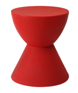 Djembe table red